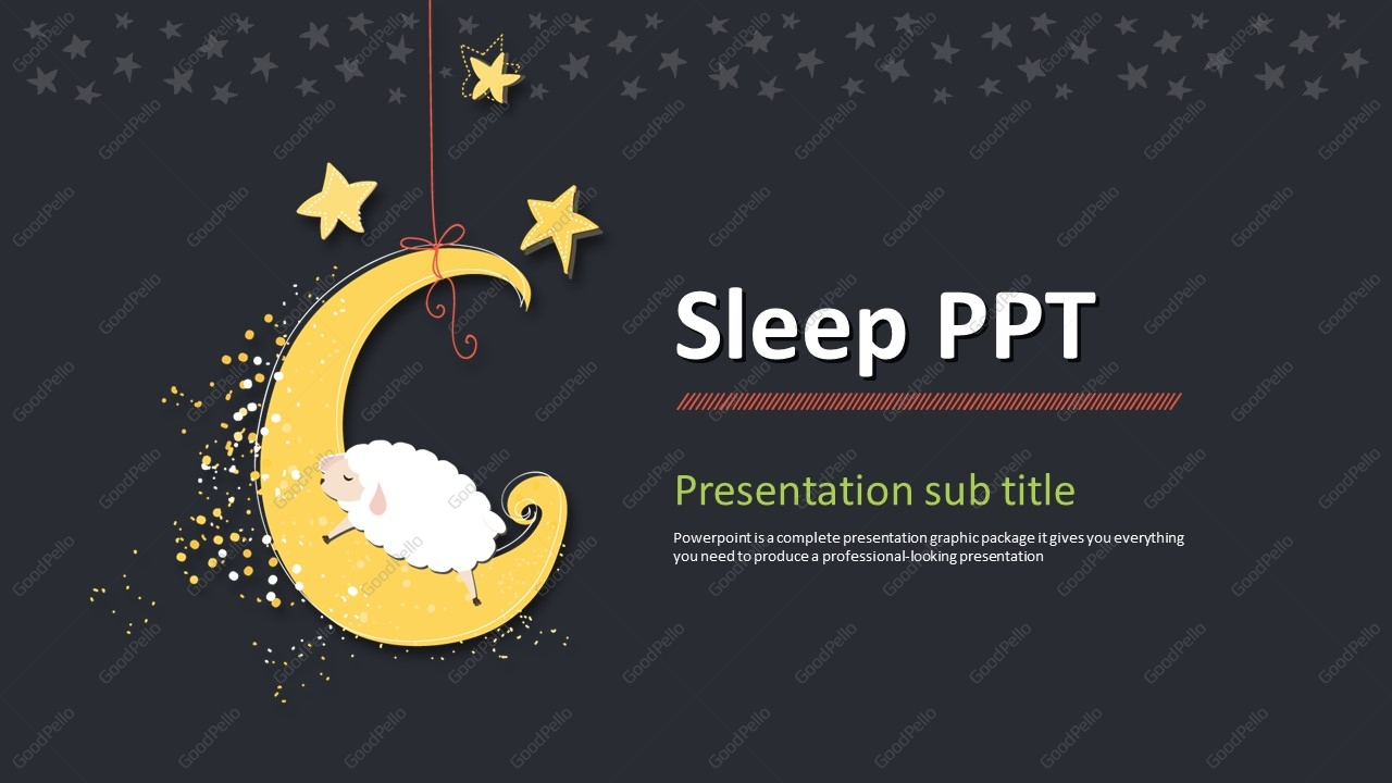 Powerpoint presentation on sleep disorders