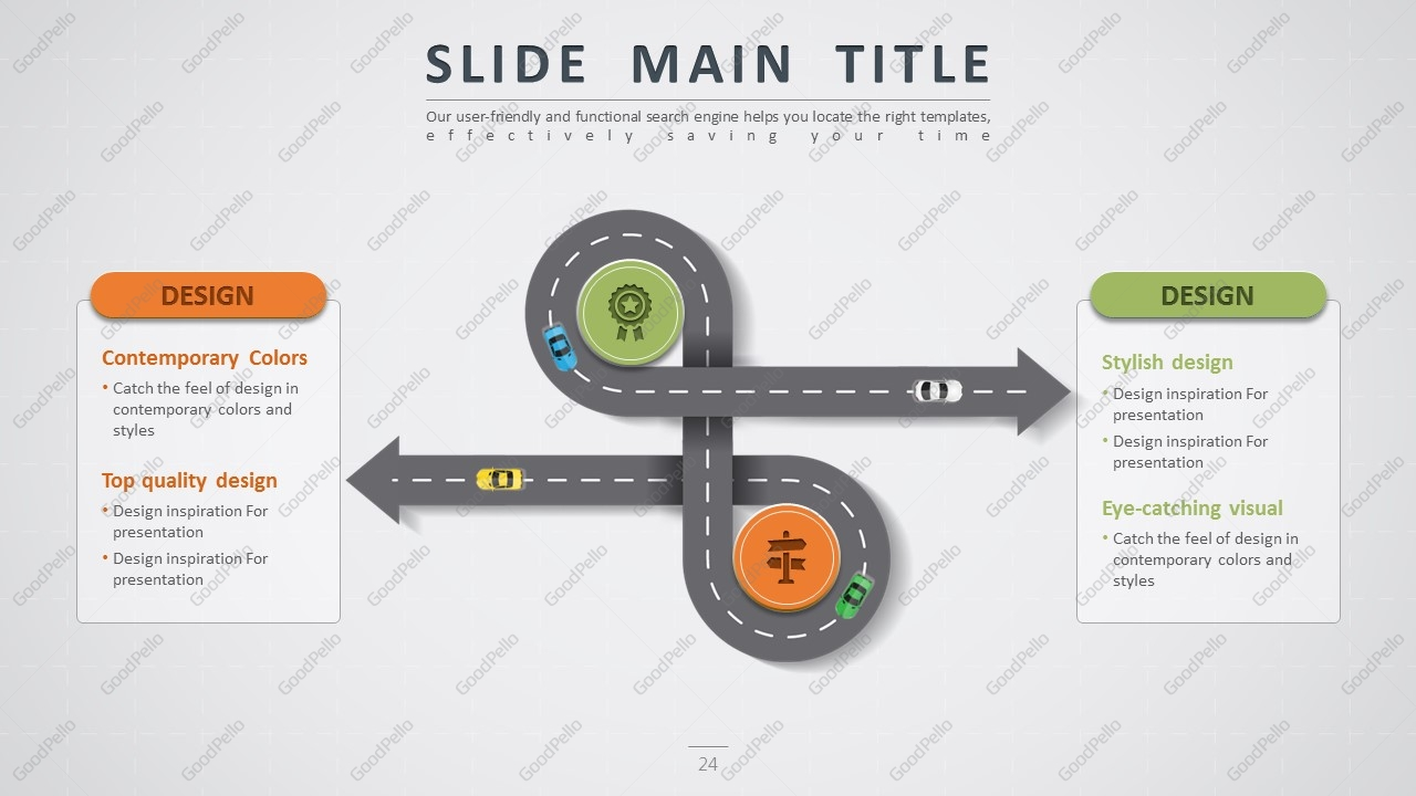 Road powerpoint template wide goodpello about road powerpoint template wide toneelgroepblik Images