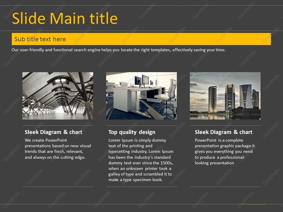 architecture ppt template  u2013 goodpello