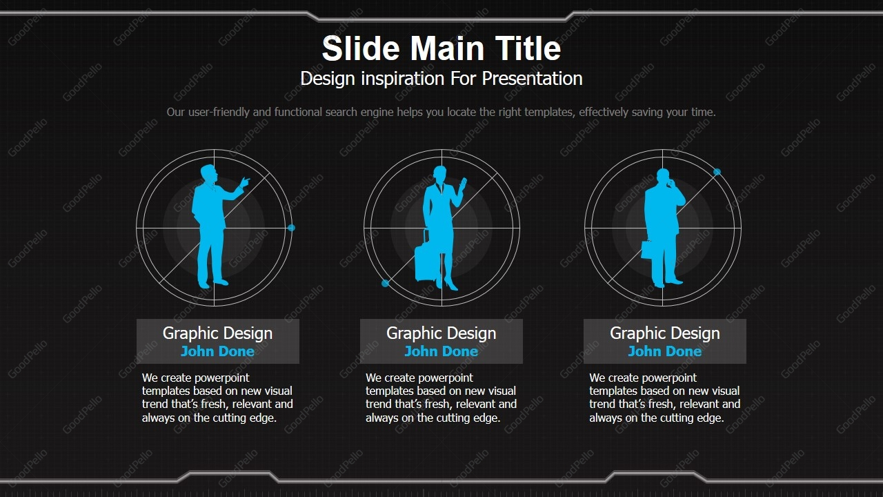 geometry ppt template wide goodpello