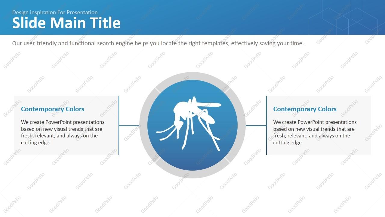virus powerpoint template wide | goodpello, Modern powerpoint