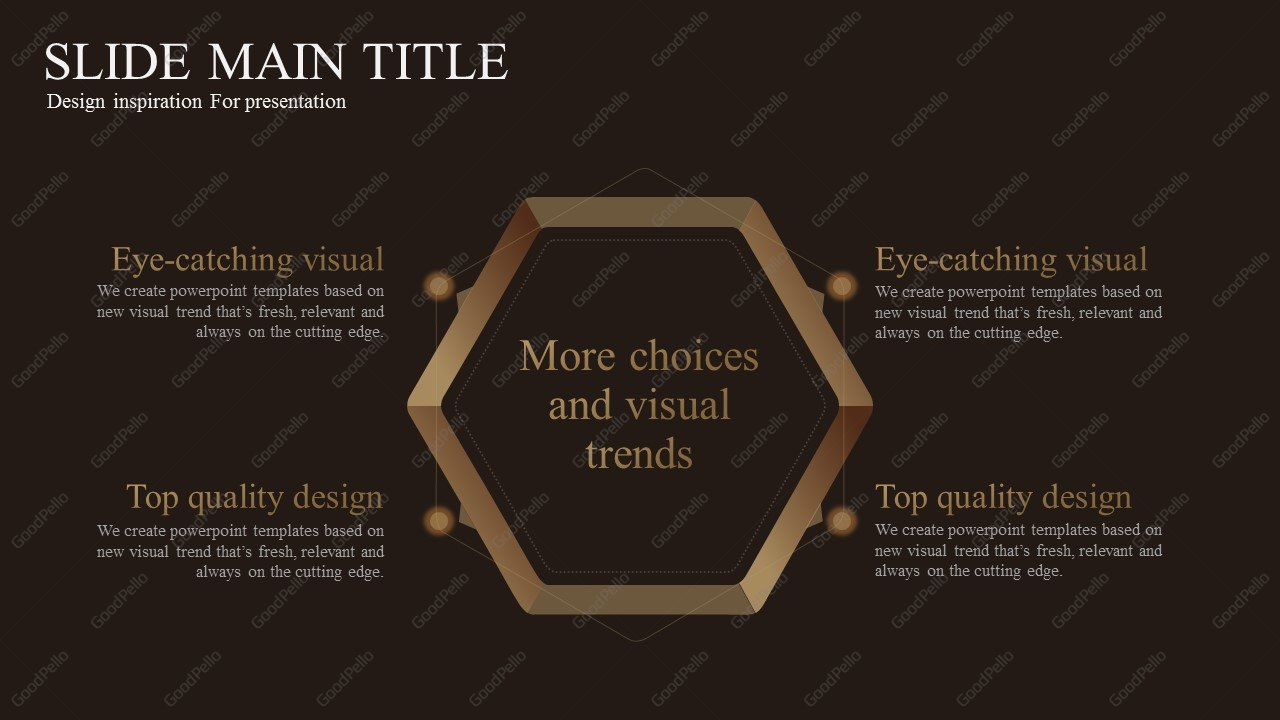 Luxury Silver Town PowerPoint Wide Goodpello - Luxury how to create table of contents in powerpoint design