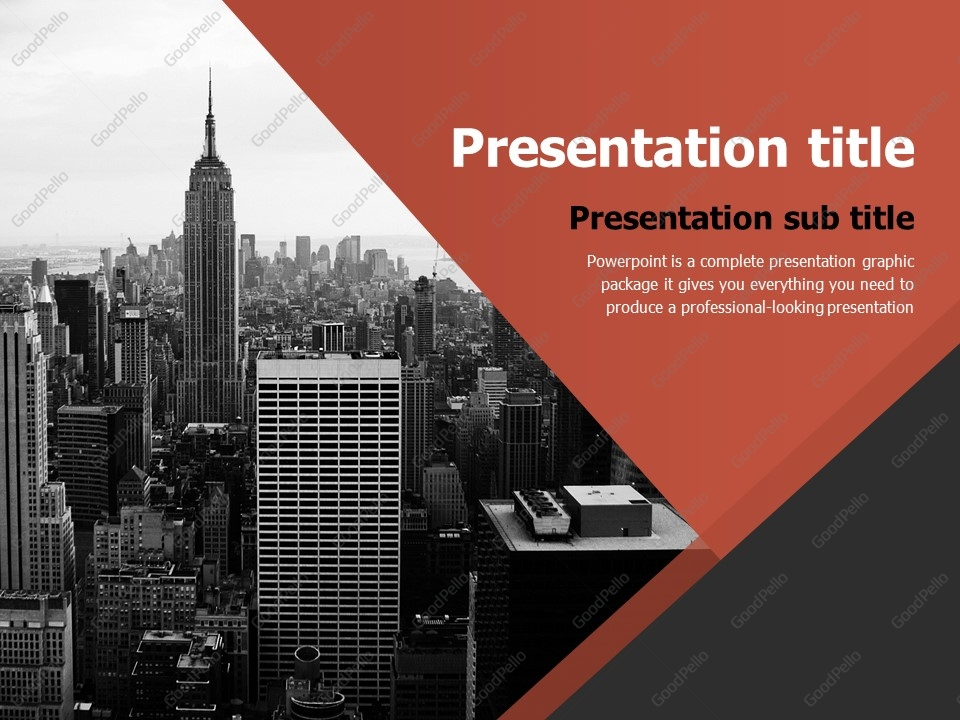 Business ppt template goodpello business ppt template toneelgroepblik Image collections