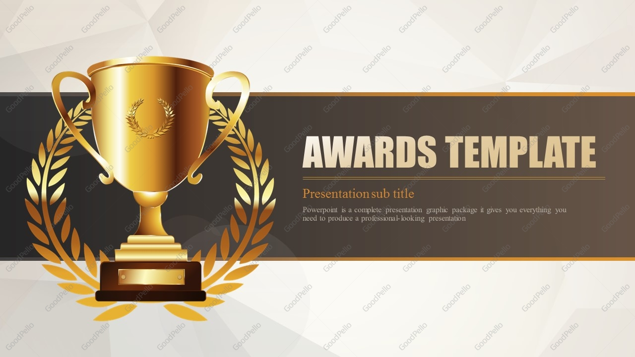 Awards template wide goodpello awards template wide alramifo Images