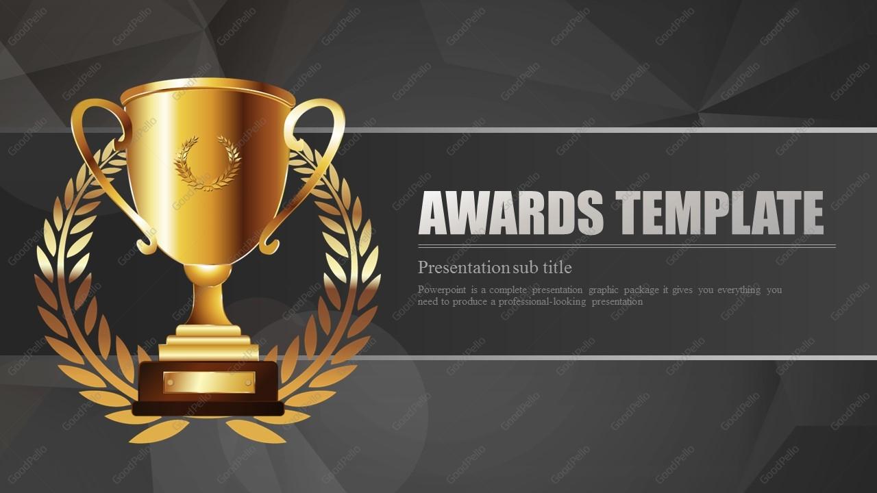 Awards Template Wide – Goodpello