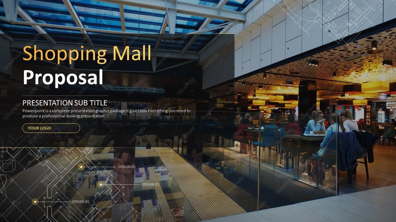 shopping mall proposal template  u2013 goodpello