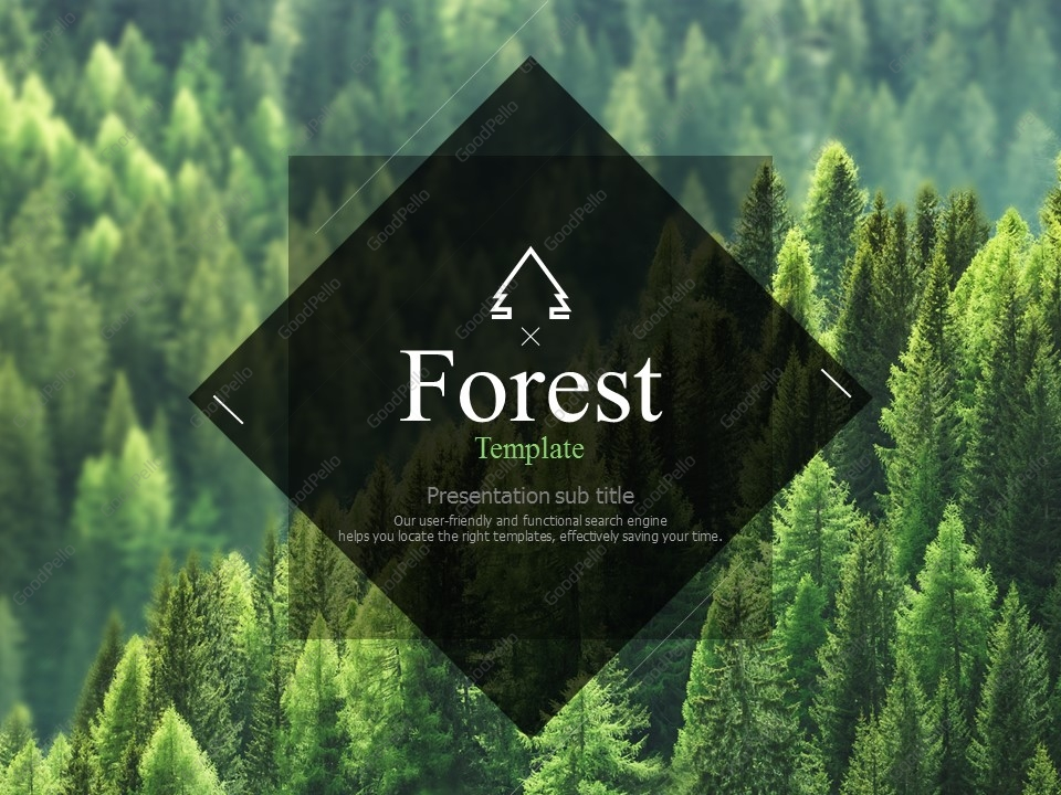 forest template goodpello