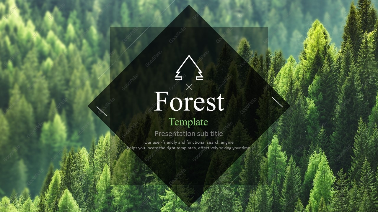 forest template wide goodpello