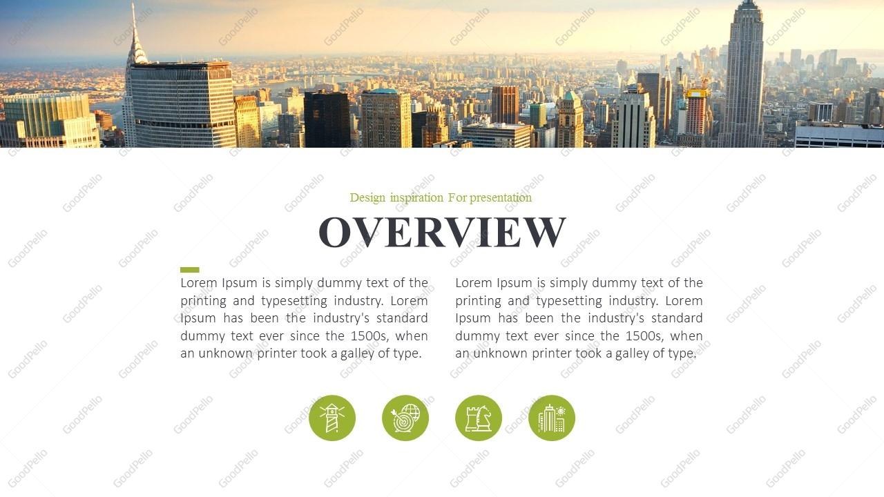 City Company Profile Ppt Template  U2013 Goodpello
