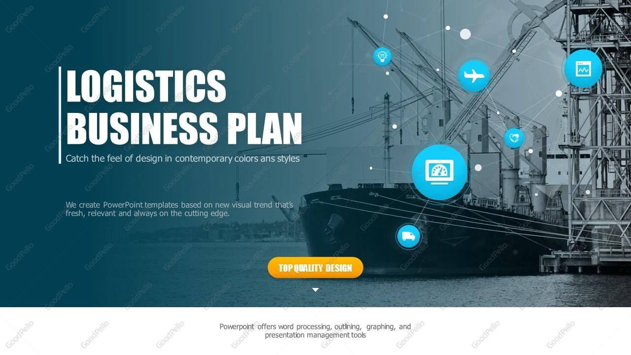 Logistics ppt template strategy goodpello logistics ppt template strategy toneelgroepblik Choice Image