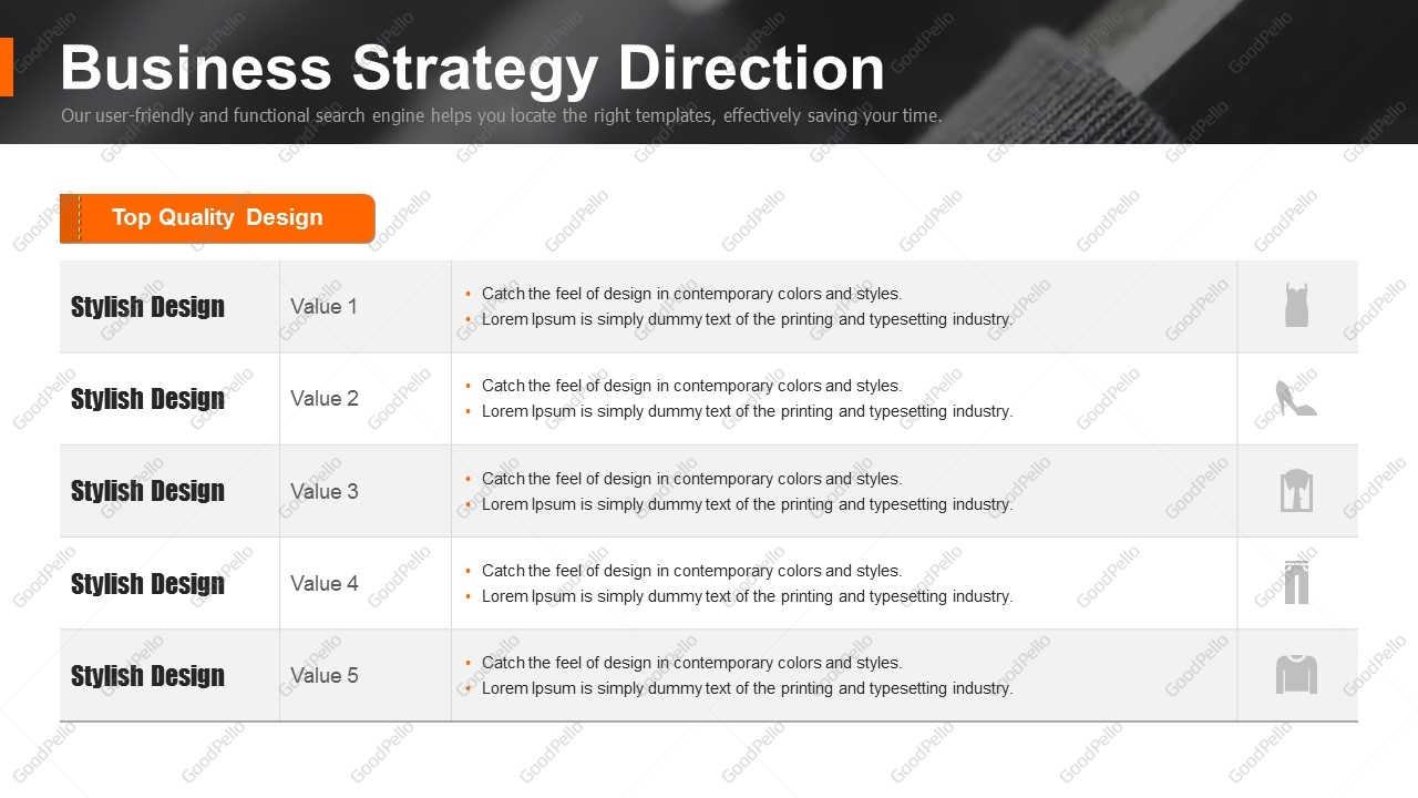 Fashion business plan strategy template goodpello fashion business plan strategy template wajeb Choice Image