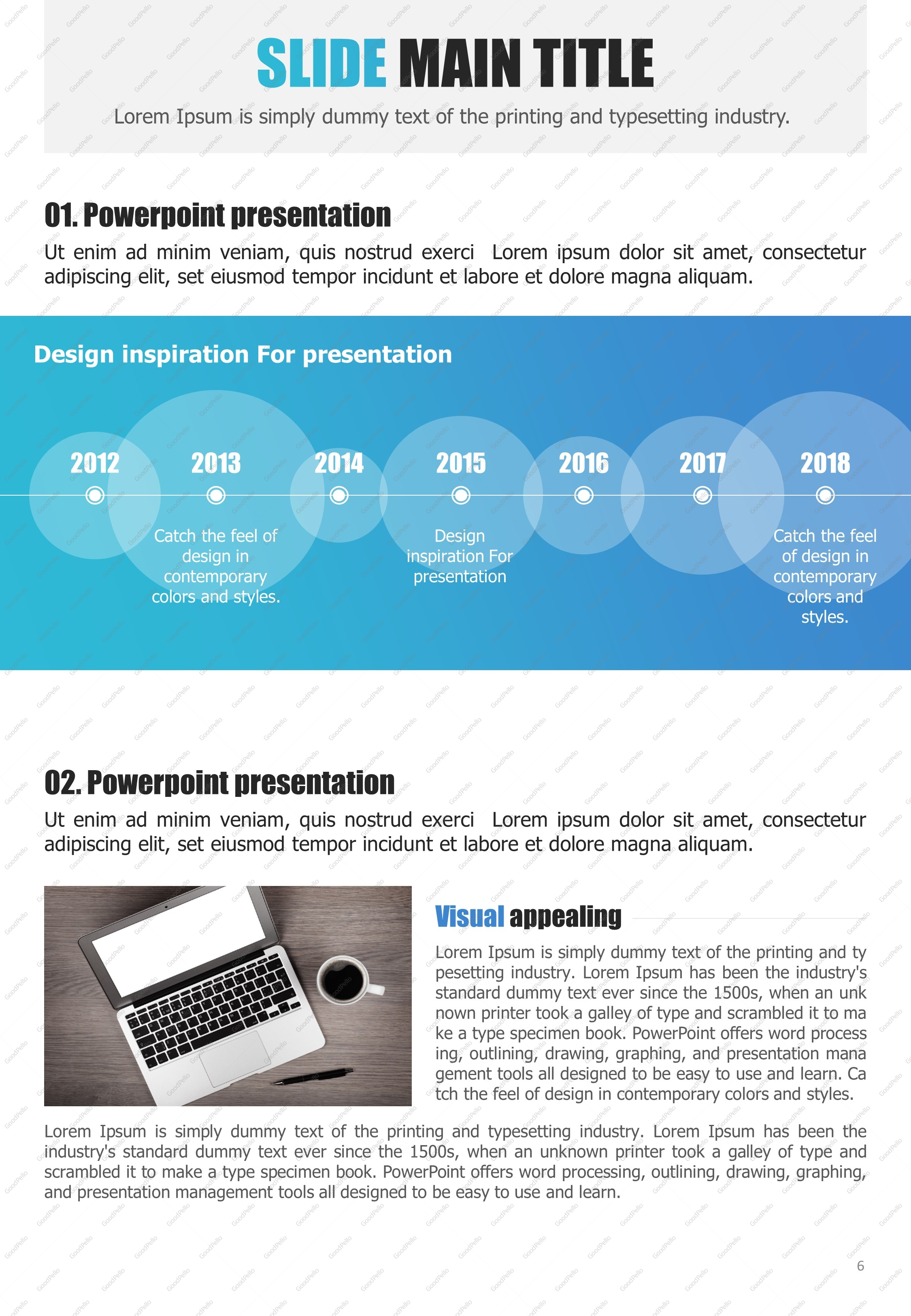 Newspaper powerpoint template vertical goodpello alramifo Image collections