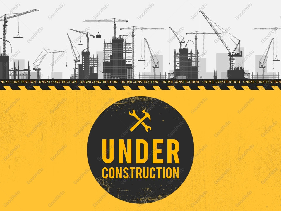 Under Construction Powerpoint Template Goodpello