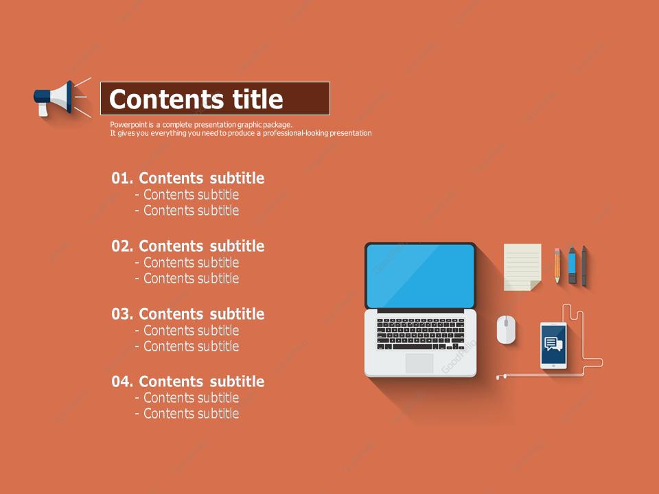 Digital Marketing PPT Template – Goodpello