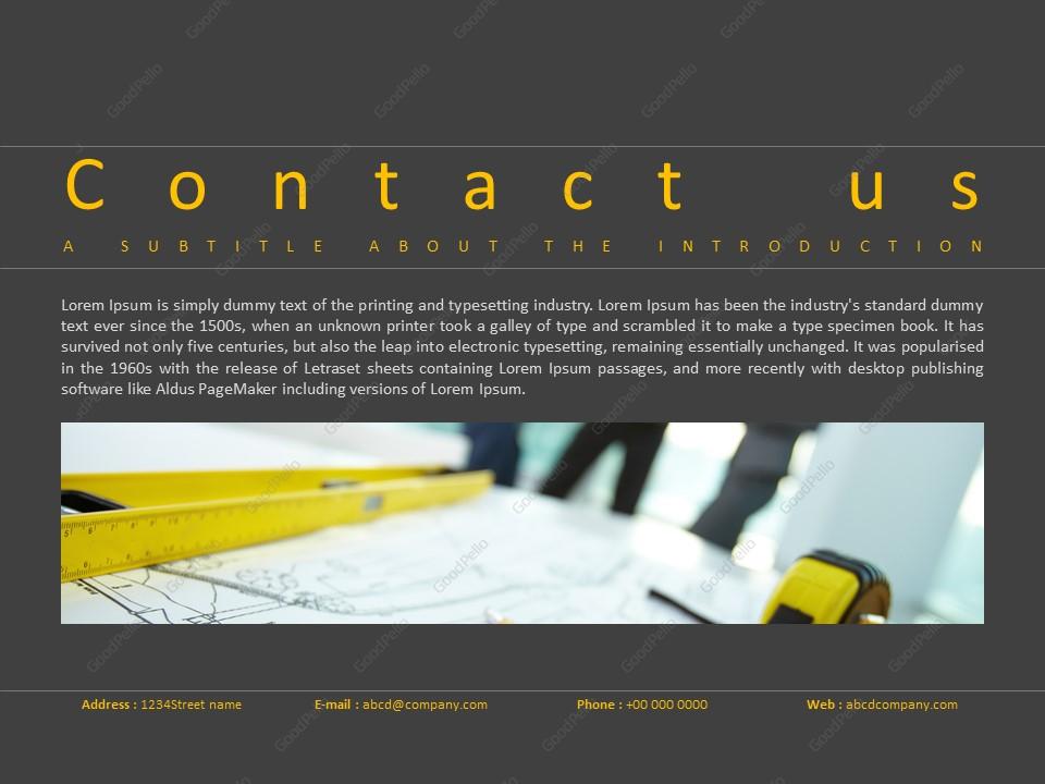 Architecture PPT Template – Goodpello