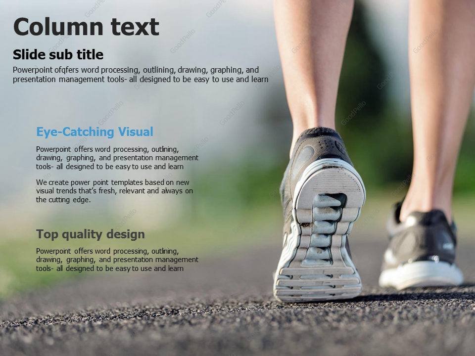 Exercise PPT Animated Template – Goodpello