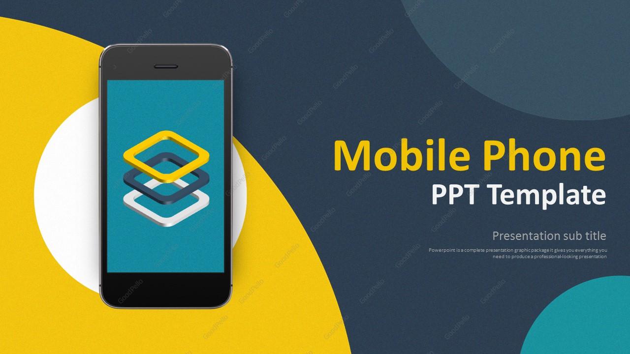 Mobile Phone PPT Wide – Goodpello
