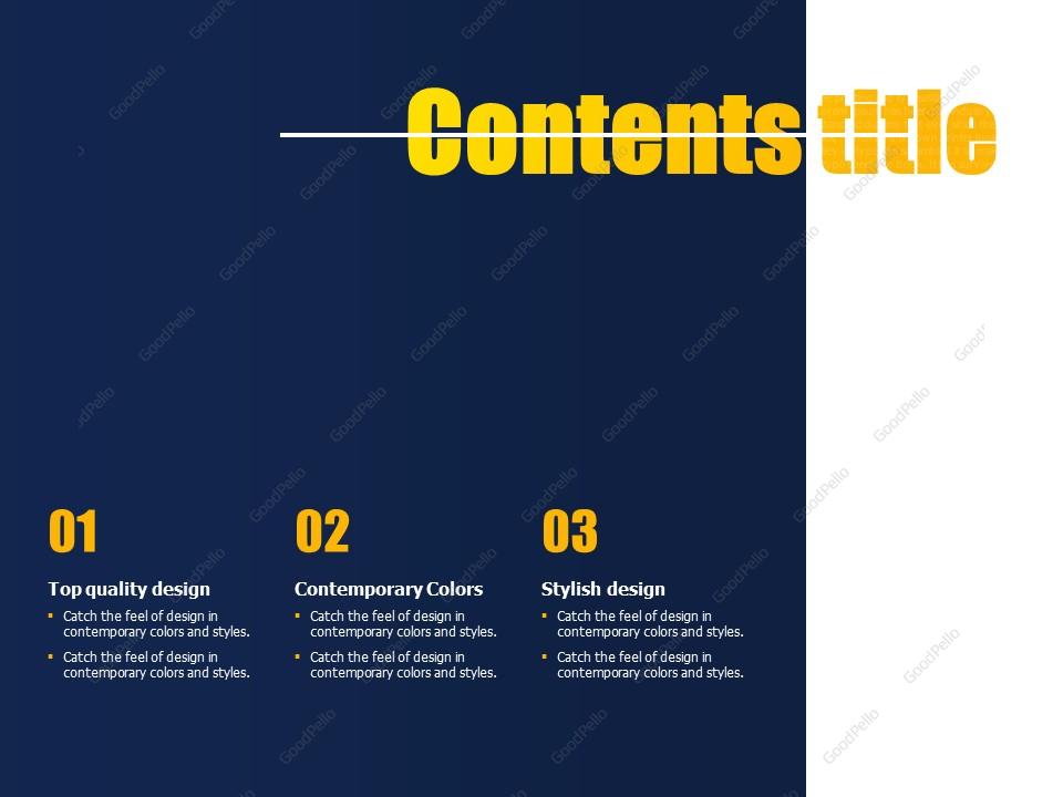 Typography PPT Template – Goodpello