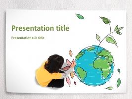 환경보호 피피티 템플릿
