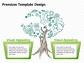 나무 일러스트 폐쇄성 다이어그램 1