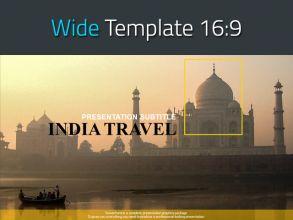 인도 여행 와이드 파워포인트