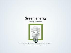 친환경 그린 에너지 파워포인트