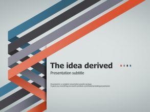 Four Idea PPT Template