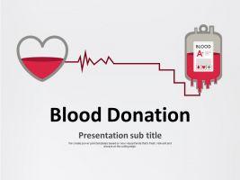 헌혈 피피티 템플릿
