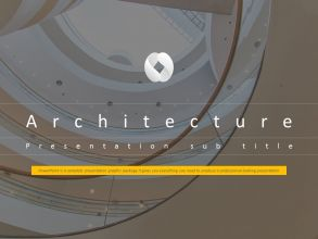 Architecture Animated PPT Template