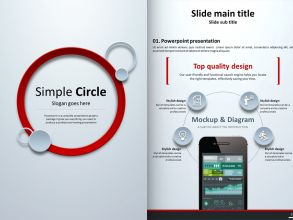 Circle PPT Vertical