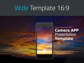 카메라 앱 와이드 프레젠테이션 템플릿