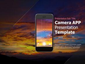 카메라 앱 프레젠테이션 템플릿