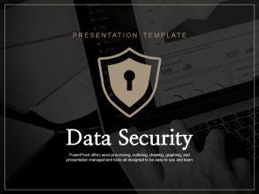 정보 보안 프레젠테이션 템플릿