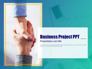 비지니스 프로젝트 피피티