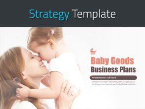 영유아 용품 사업계획서 템플릿