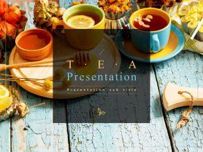 차(茶) 프레젠테이션