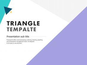 삼각형 무료 템플릿