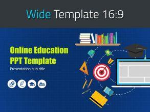 온라인 교육 와이드 템플릿
