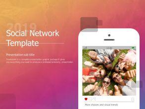 소셜 네트워크 템플릿