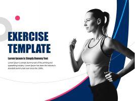 운동 테마 템플릿