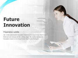 미래 혁신의 피피티 템플릿