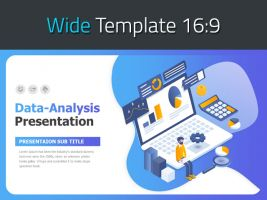 Data Analysis Presentation Template Wide