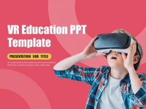 VR 교육 피피티 템플릿