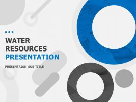 Water Resources Presentation Template