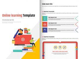 온라인 수업 세로형 템플릿