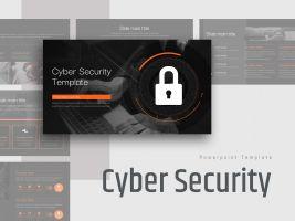 사이버 보안 와이드 템플릿