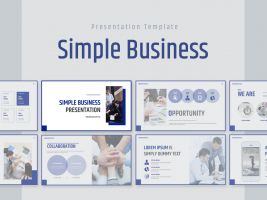 Simple Business Presentation Wide