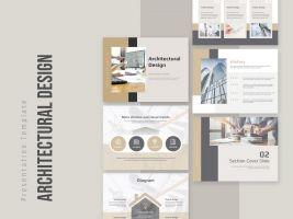 건축 설계 디자인 템플릿