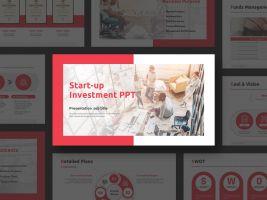 스타트업 투자유치 템플릿